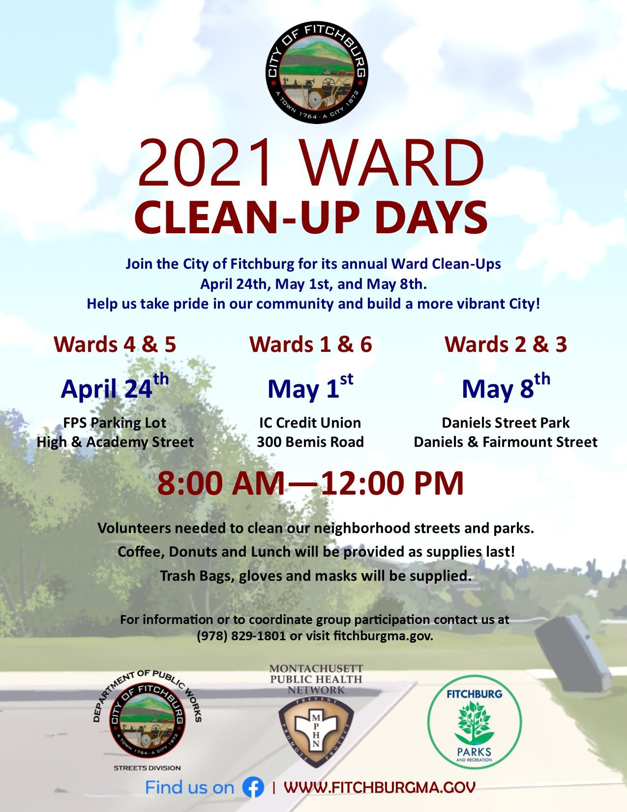 Ward Cleanup 2021 Poster